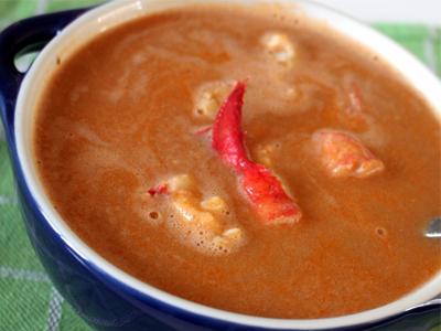 kreeften soep