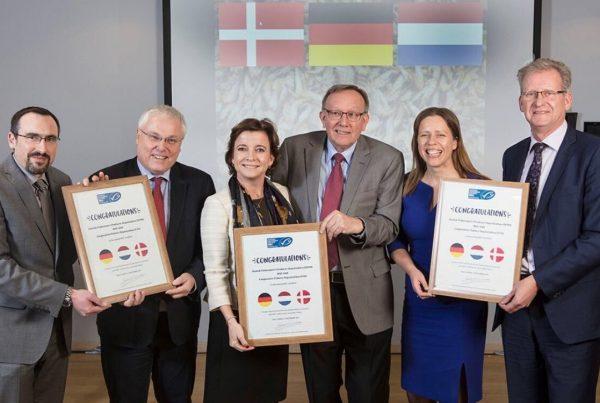 Garnalensector ontvangt felicitaties MSC certificaat