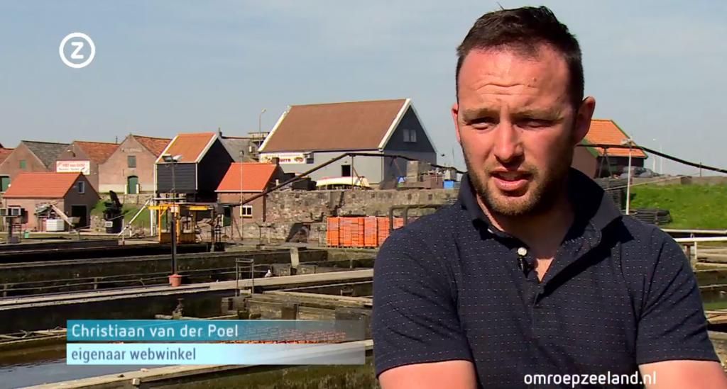 Christiaan van der Poel - Vis Winkel Online - Omroep Zeeland