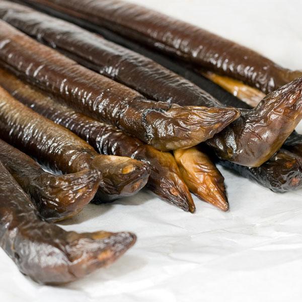 Gerookte wilde paling