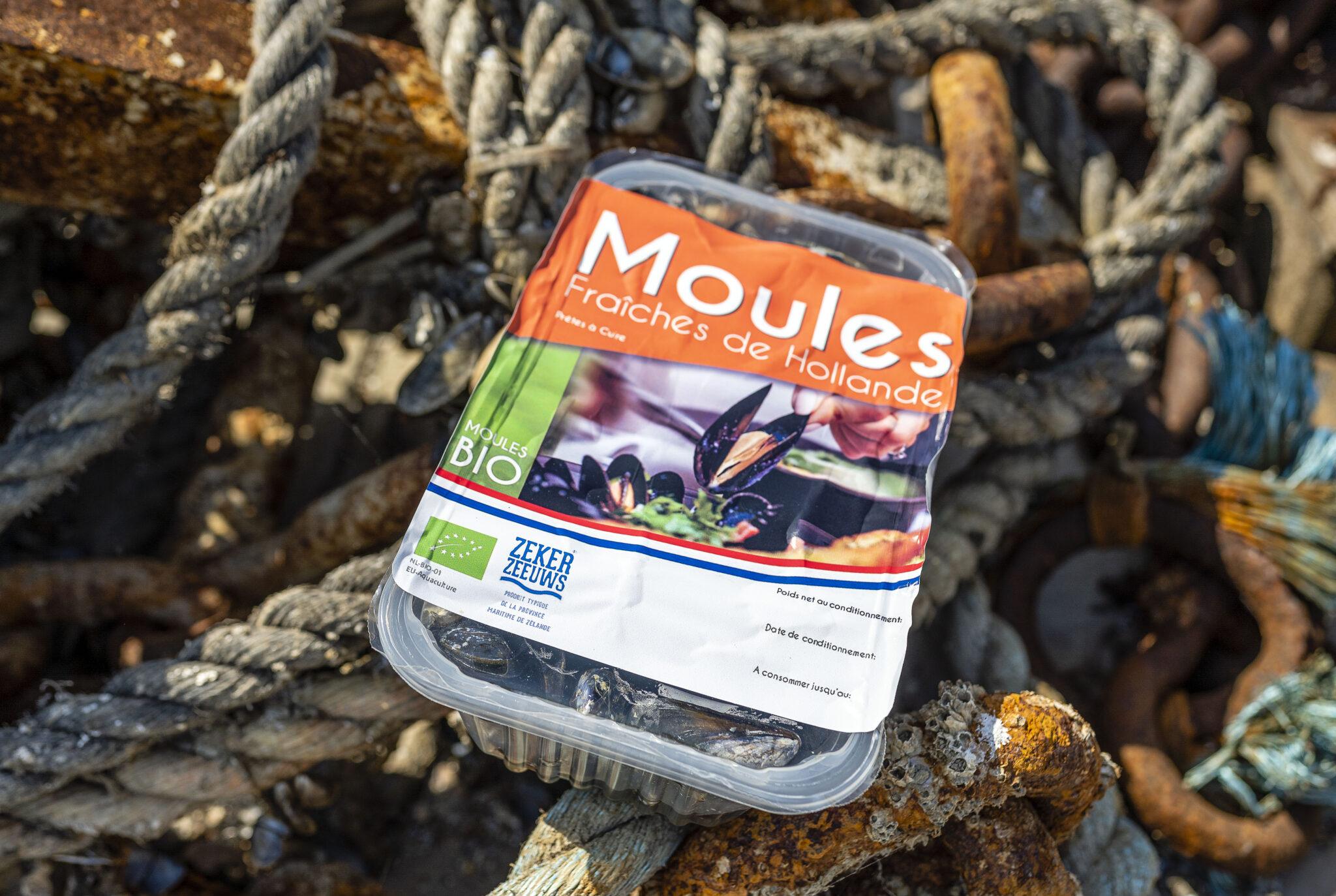 Geoogst: eerste Zeeuwse hangcultuurmosselen | Nu officieel biologisch!